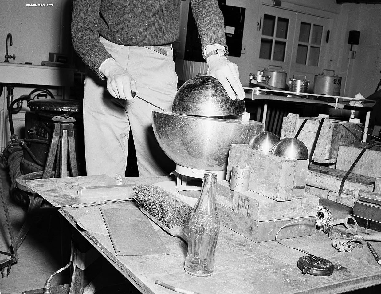 The Demon Core – Both the first and the second person to die from an accidental uncontrolled nuclear reaction were working with the same plutonium core